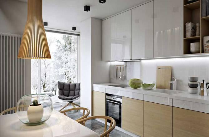 Кухня 10 кв. метров с диваном: расстановка мебели, правила выбора дивана