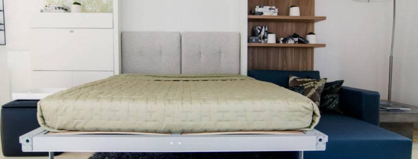 Шкаф-кровать в интерьере гостиной: безумное решение для малогабаритной комнаты + 60 фото