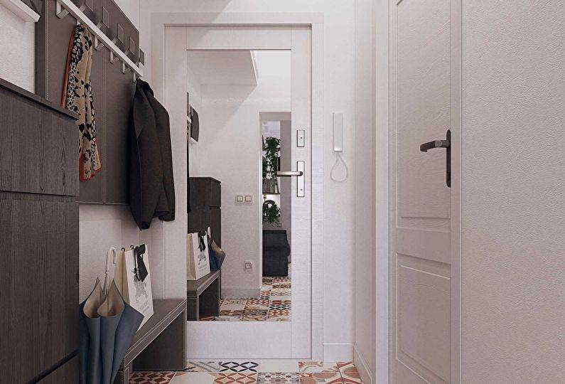 Дизайн узкой прихожей (110 фото): реальные идеи-2021 для оформления интерьера длинного коридора в маленькой квартире, выбор подходящей мебели