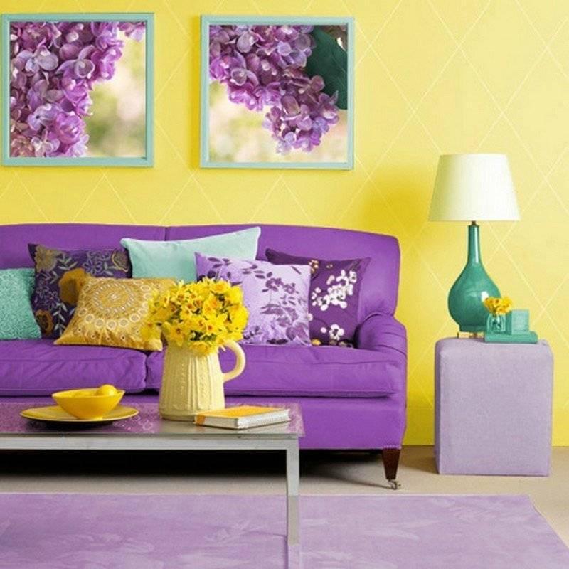 Желтый в интерьере: фото, значение цвета, сочетания, выбор стиля и отделки