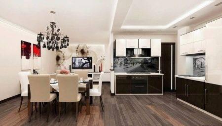 Кухня-гостиная 16 кв м (39 фото)