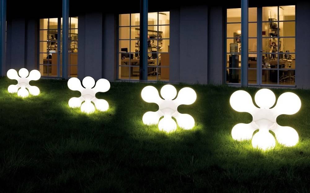 Варианты освещения в ландшафтном дизайне участка