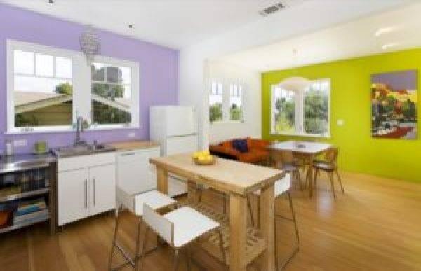 Покраска стен на кухне своими руками. идеи, варианты и примеры