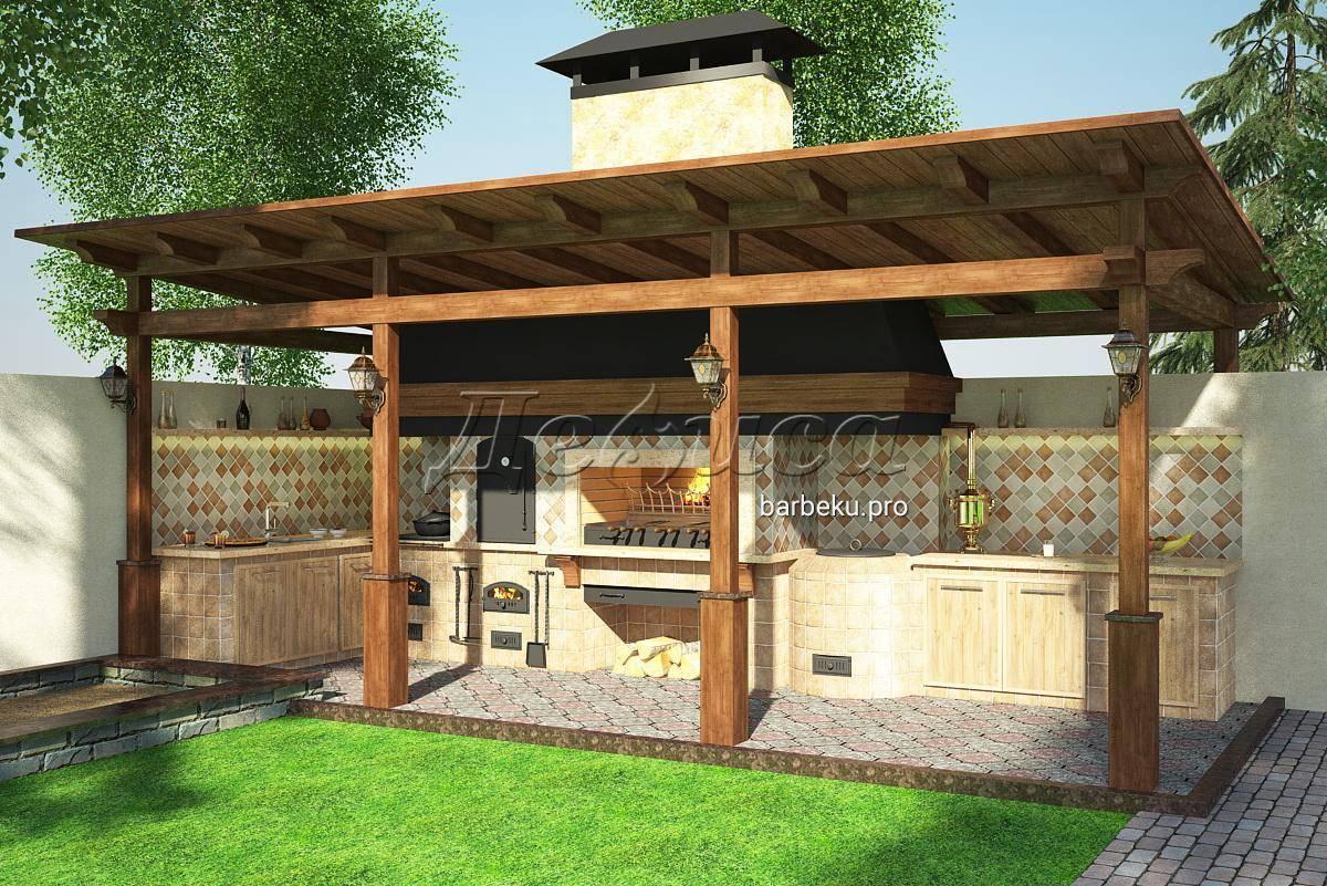 Проекты беседок с мангалом для барбекю и печкой (66 фото): как построить своими руками закрытые зимние и летние варианты эконом-класса, постройки из кирпича и дерева