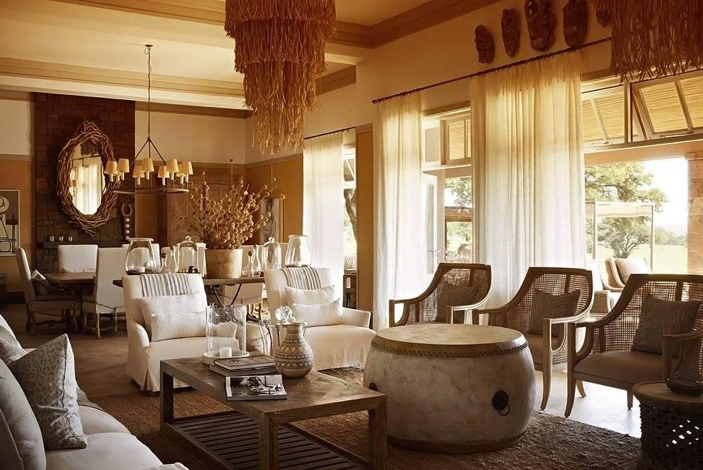 Африканский стиль в интерьере (86 фото): дизайн кухни и спальни, прихожей и ванной комнаты в квартире, декор коридора, примеры ремонтов