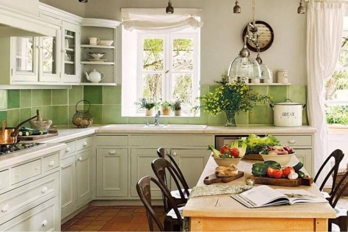 Идеальный дизайн кухни в загородном доме: фото, интерьер, советы
