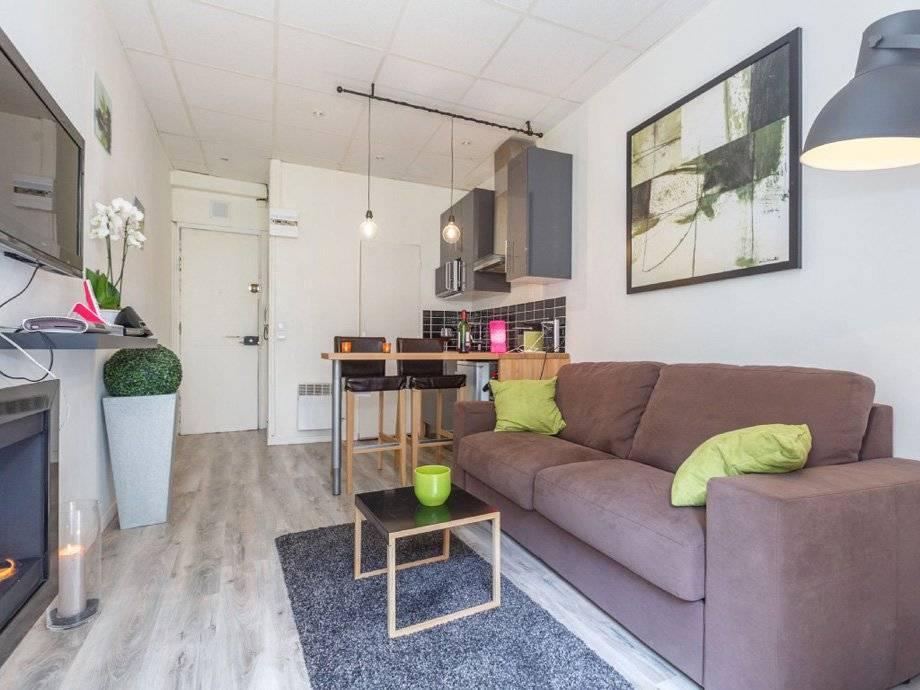 Планировка для квартиры-студии (70 фото): варианты для площади 12-18 кв. м, дизайн квартир по 24 и 26 «квадратов», обстановка двухкомнатных от 27 до 45 метров