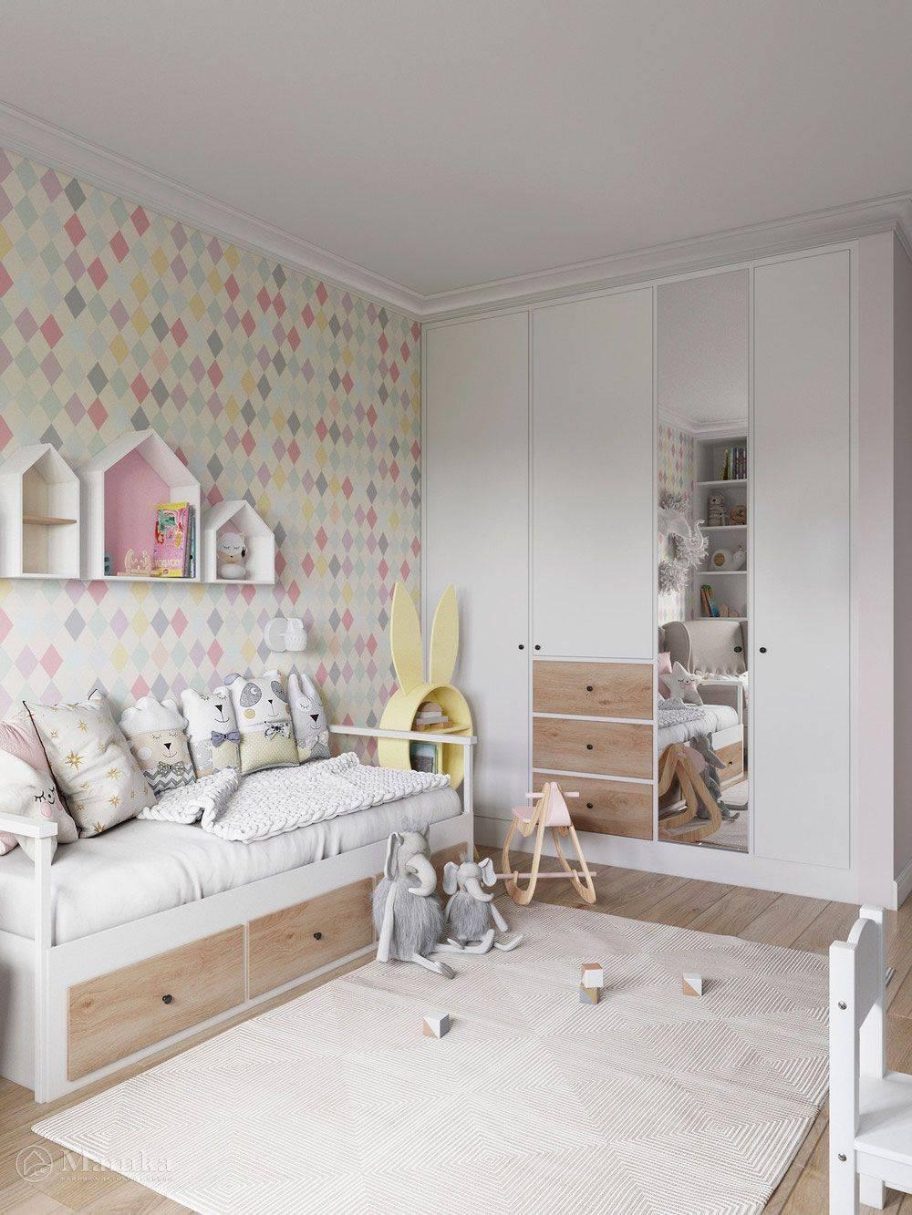 Дизайн маленькой детской комнаты +75 идей интерьера