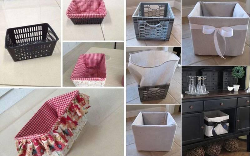 Декор коробки для хранения вещей своими руками, красивое оформление