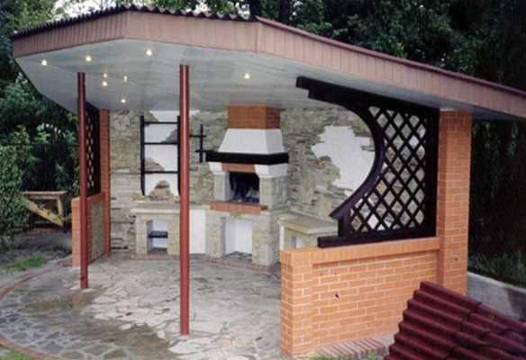 Барбекю для дачи: 135 фото простых и эффектных моделей постройки барбекю