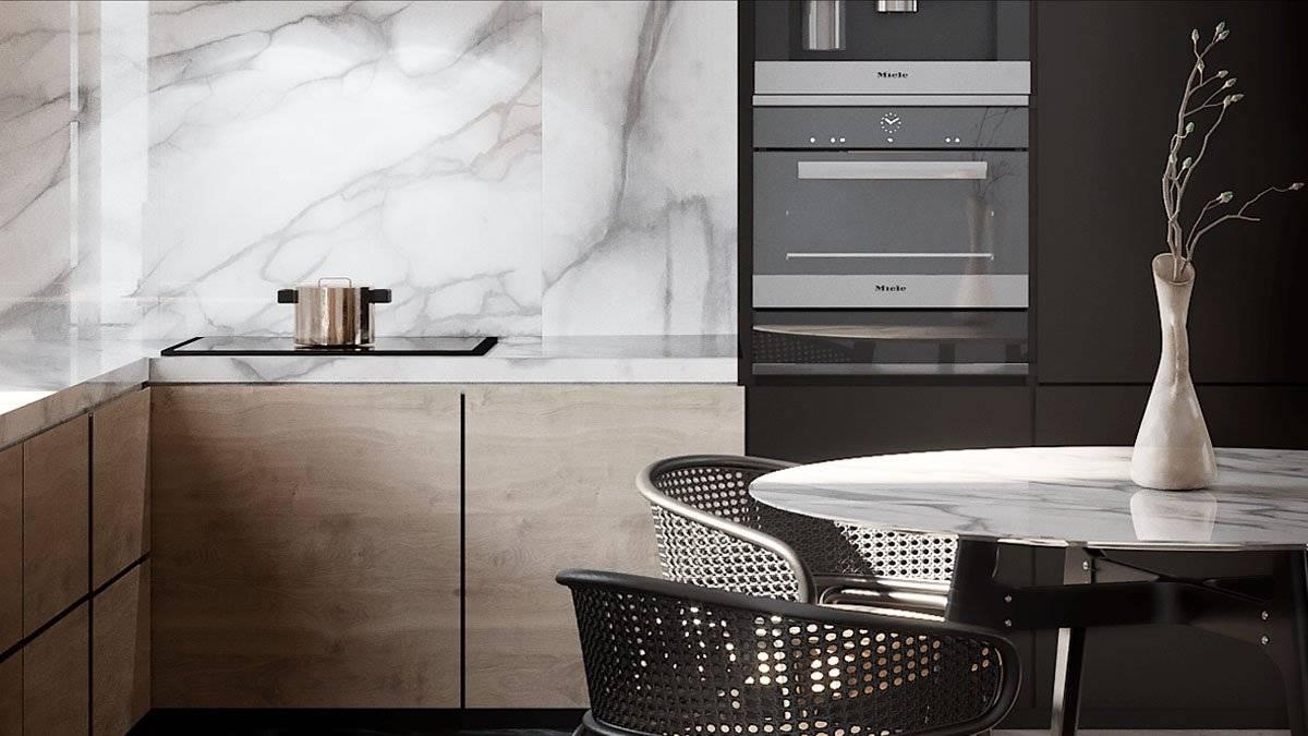 Новинки дизайна кухни 2021