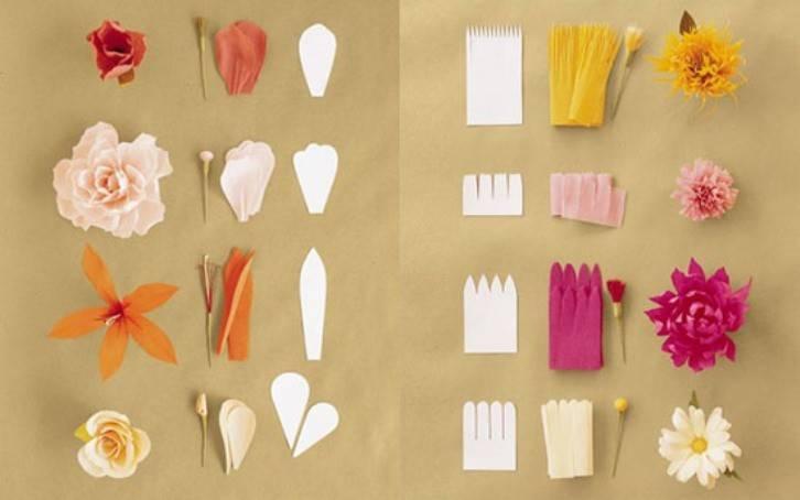 Цветы из цветной бумаги своими руками. пошаговые инструкции + 300 фото