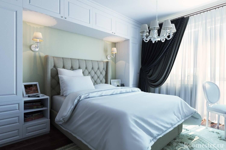 Ремонт в спальне 9 кв. м: 11 идей