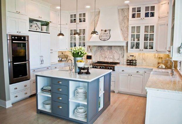Кухня с островом: особенности дизайна, выбор интерьера и цвета, типы планировок (80 фото)