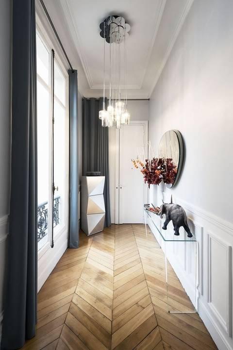 Дизайн узкого коридора (81 фото): реальные идеи и решения 2021, как визуально расширить длинное помещение в квартире, варианты-проекты интерьера коридора для «хрущевки»