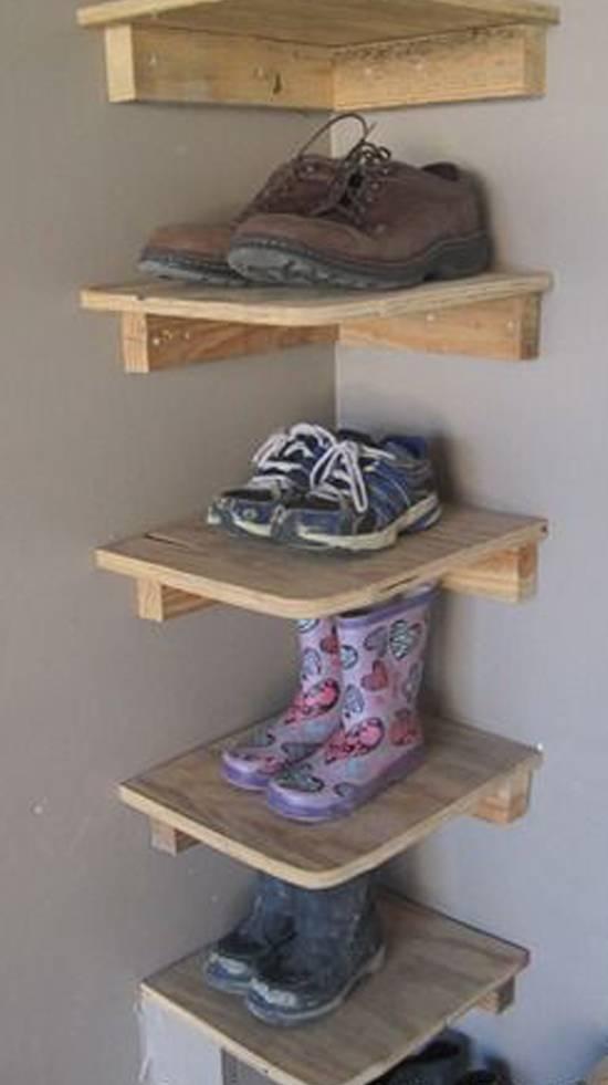 Как сделать полку для обуви своими руками - лучшие идеи и инструкции!