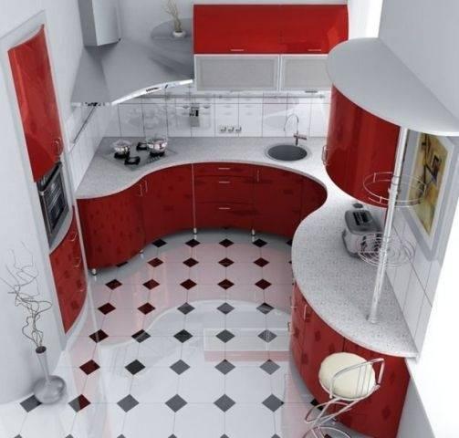 Кухня 3 на 2 метра: дизайн, фото интерьеров и планировка