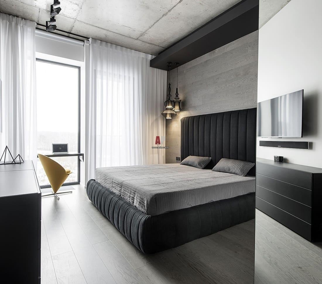 Спальня в стиле минимализм - секреты лаконичного дизайна