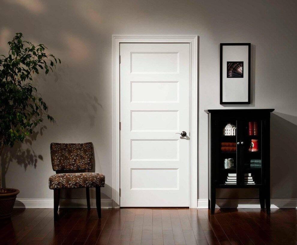 Межкомнатные двери с коробкой - оптимальный размер