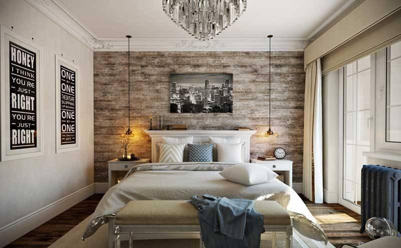 Нюансы оформления дизайна спальни 9 м2