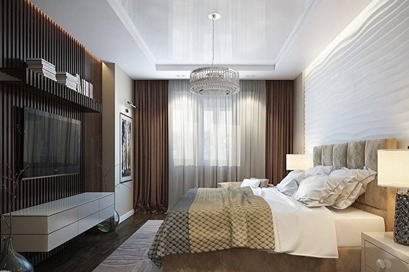 Дизайн спальни с балконом, с лоджией: фото, видео, ремонт, интерьер, идеи
