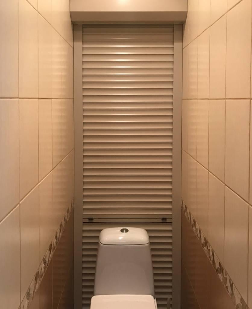 Рольставни в туалет: 70+ (фото) вариантов и их установка