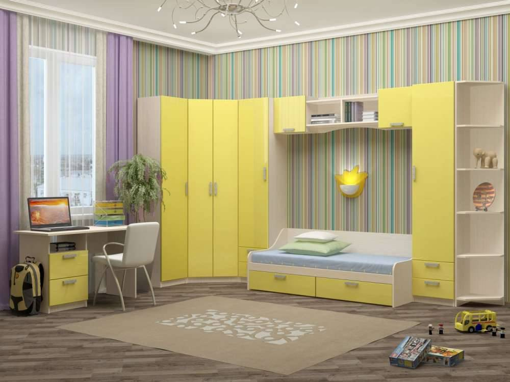 Детская кровать-чердак с рабочей зоной (83 фото): двухъярусная модель со столом и шкафом, стенка для детей