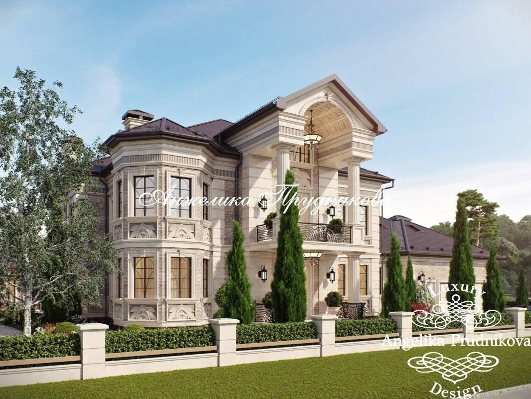 Варианты отделки фасадов частных домов — фото примеров
