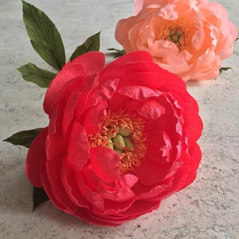 Как сделать легкие цветы из бумаги легко и быстро. пошаговые инструкции + 300 фото