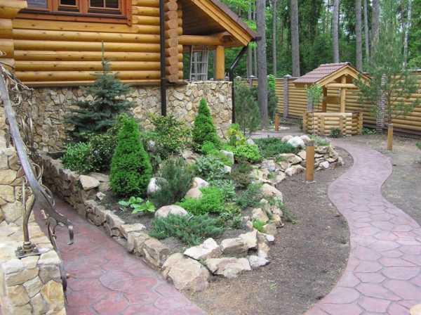 Каменистый сад в ландшафтном дизайне — советы по обустройству - 22 фото