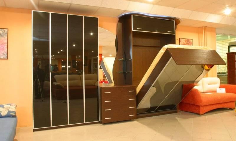 Шкаф-кровать — современные решения при ограниченных пространствах + 69 фото