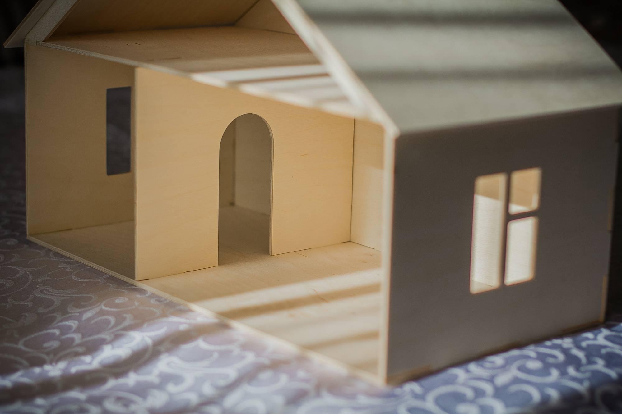 Кукольный домик своими руками из фанеры - 120 фото идей и новинок