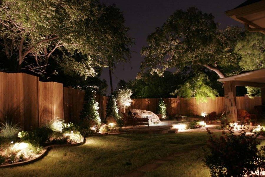 Садовое освещение, декоративное и функциональное - фото примеров