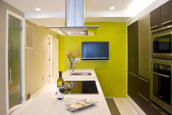 Фисташковый интерьер: энергия лета в вашем доме