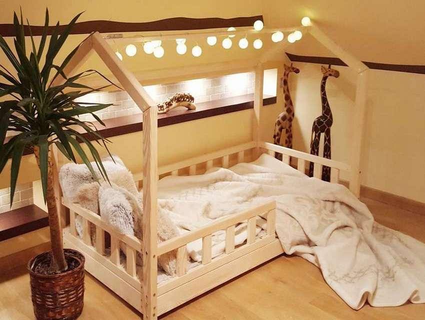Кровать из дерева своими руками: как подобрать чертеж с размерами и описанием хода работ, сделать каркас и самому изготовить простое красивое ложе как на фото?
