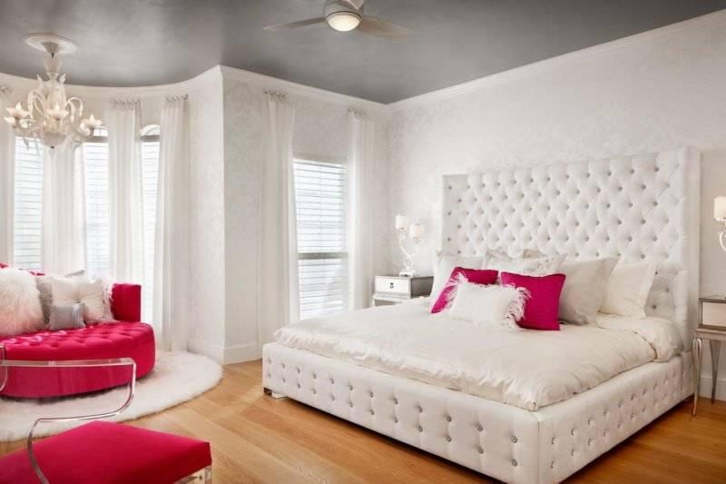 Интерьер спальни в светлых тонах со светлой мебелью: оформления, подбор дизайна и мебели в комнату