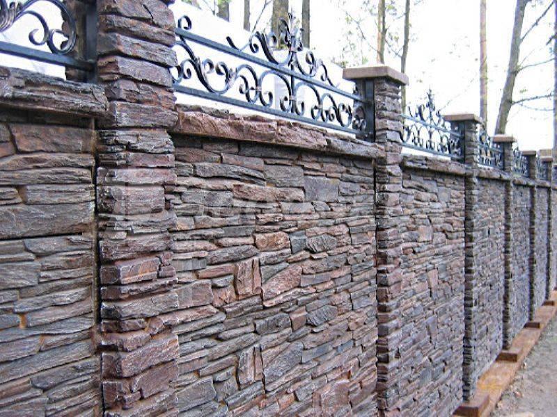 Забор из габионов (55 фото): технологии укладки камней, особенности габионовой и каменной конструкции
