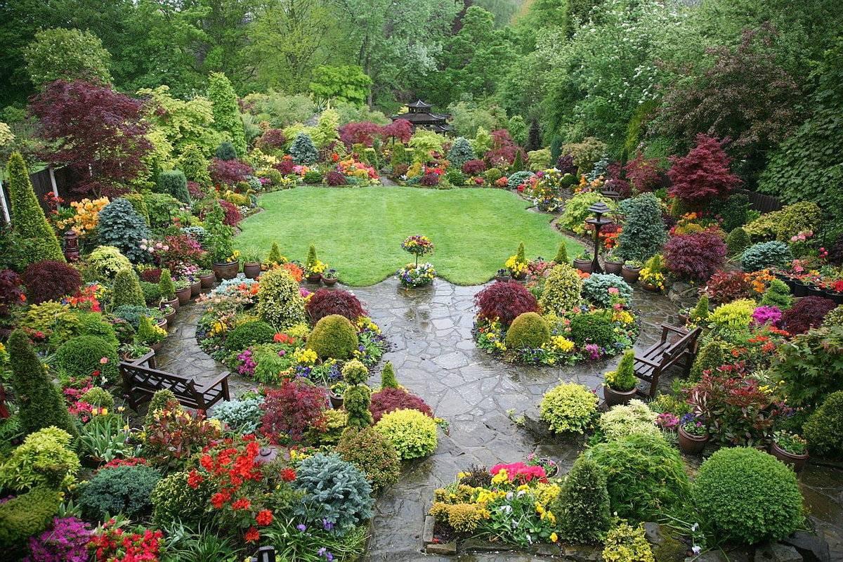 Английский стиль в ландшафтном дизайне: 80 фото дизайна сада