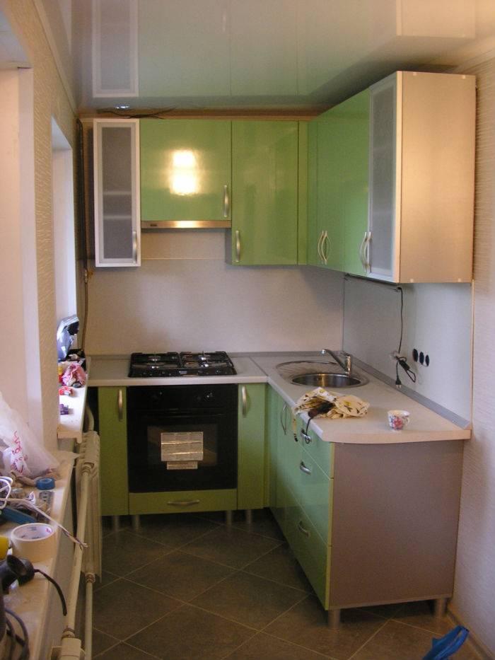 Кухня в хрущевке длиной 2-2,5 метра – рекомендации по планировке