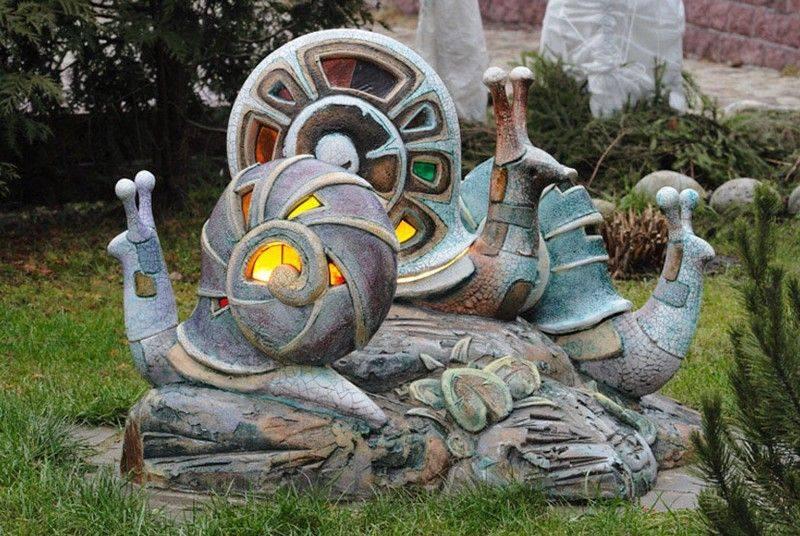 Садовые скульптуры на вашем участке, часть 1