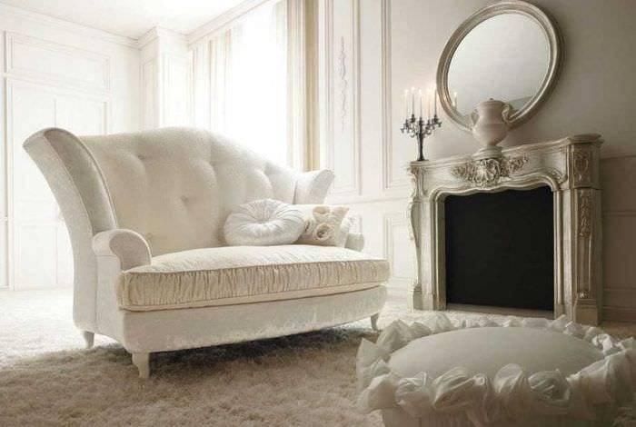 Белый пол в интерьере: виды, дизайн, сочетание с цветом стен, потолка, дверей, мебели