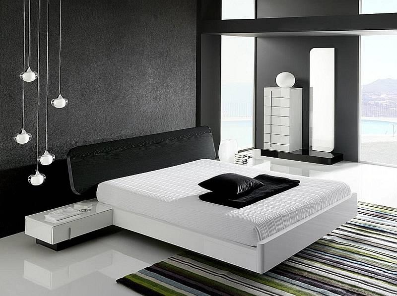 Спальня в стиле минимализм - дизайн интерьера