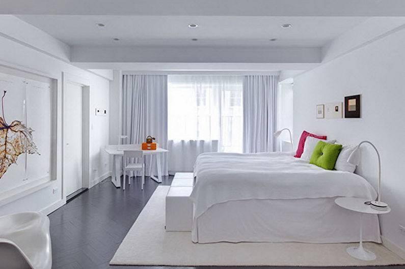 Спальня в стиле «минимализм» (78 фото): дизайн интерьера серой и белой спальни, уютные современные комнаты минимального размера