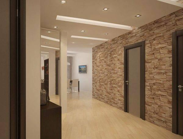 Отделка прихожей декоративным камнем: нюансы внутренних работ и укладки, плюсы, минусы, дизайн интерьера, и как выложить на стену при ремонте квартиры своими руками?