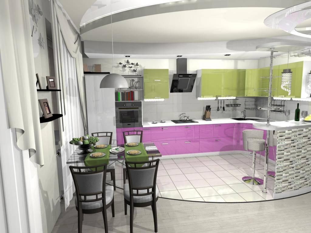 Бело-зеленая кухня: 60+ фото примеров, правила сочетания белого и зеленого цвета