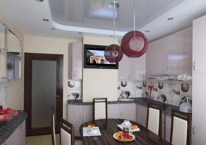 Кухня с воздуховодом дизайн - ландшафтник
