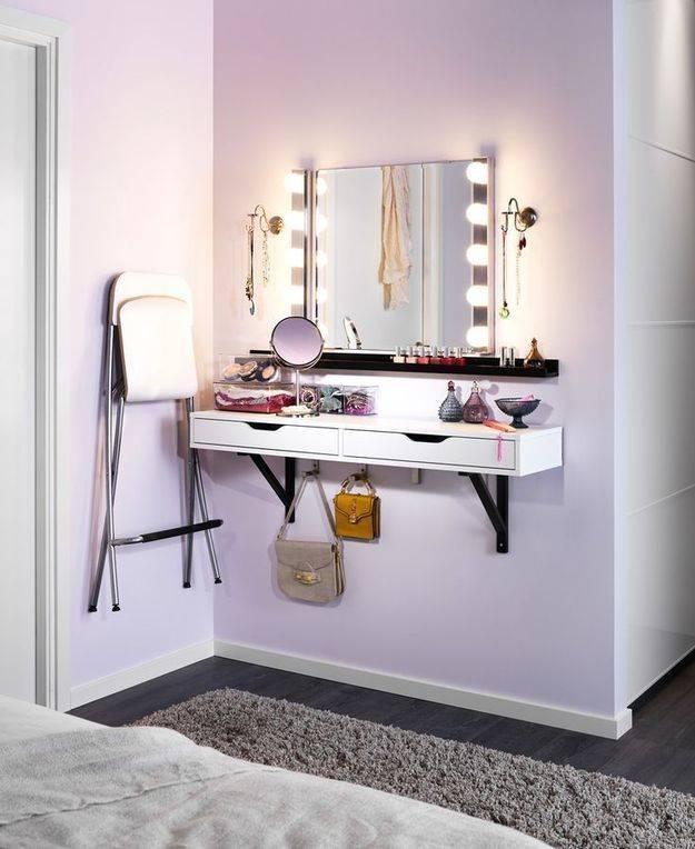Туалетный столик в спальню — фото ярких примеров в интерьере спальни