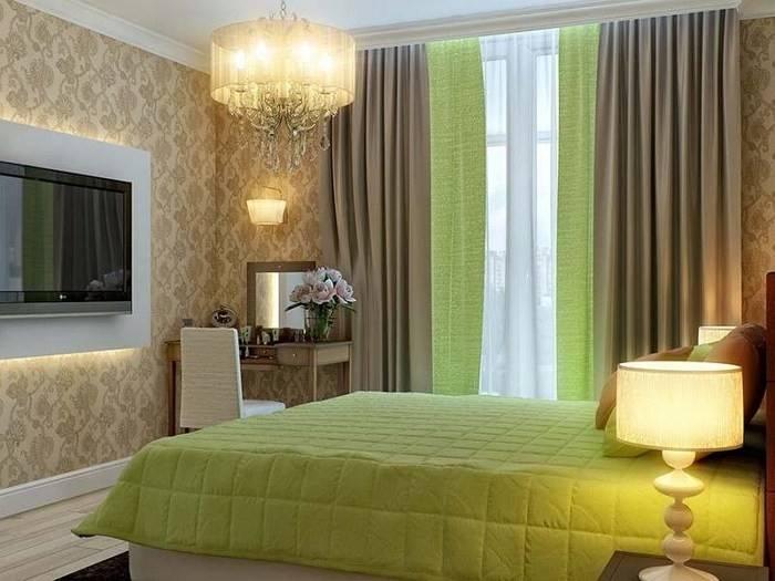 Фисташковый цвет в интерьере - кухни, гостиной или спальни и сочетание с другими цветами