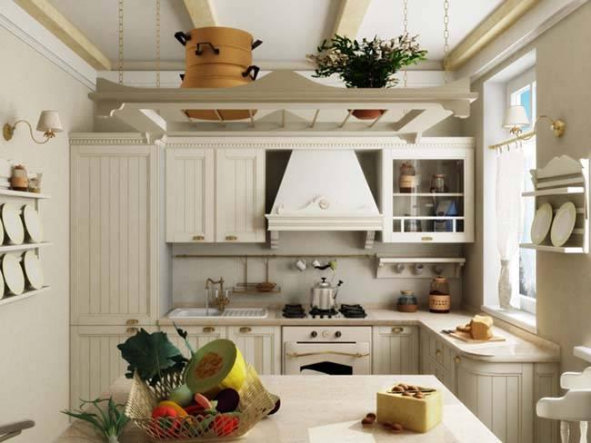 Современные идеи интерьера кухни в стиле кантри – 100 фото