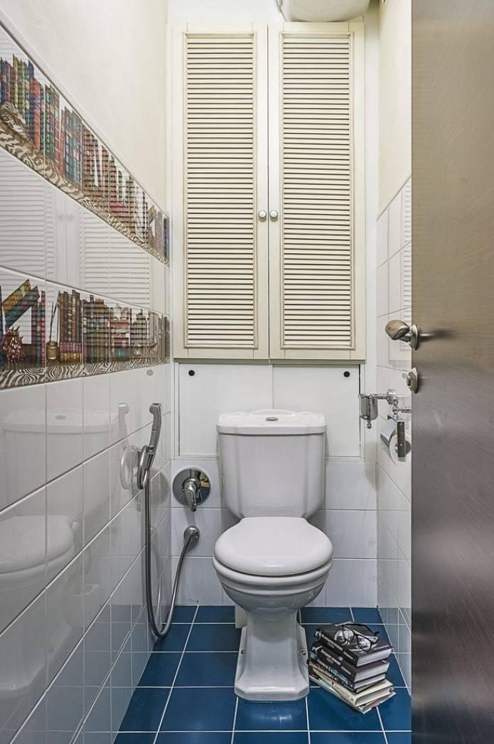 Шкафчик в туалете за унитазом - только ремонт своими руками в квартире: фото, видео, инструкции